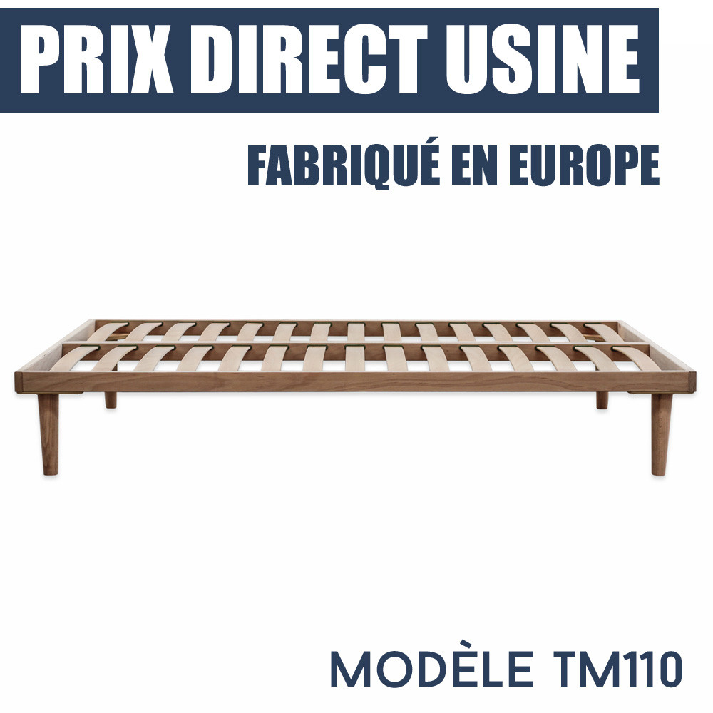 Sommier A Lattes Tm110 Prix Imbattable